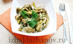 Салат «Баклажаны как грибы»