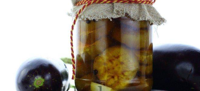 Печеные баклажаны на зиму