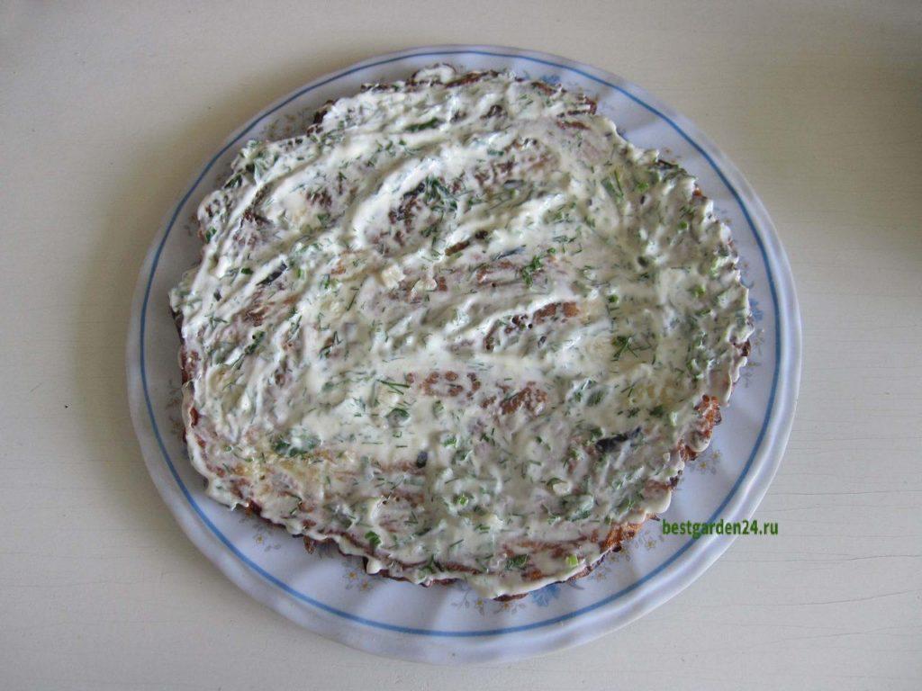 Готовка кабачкового торта