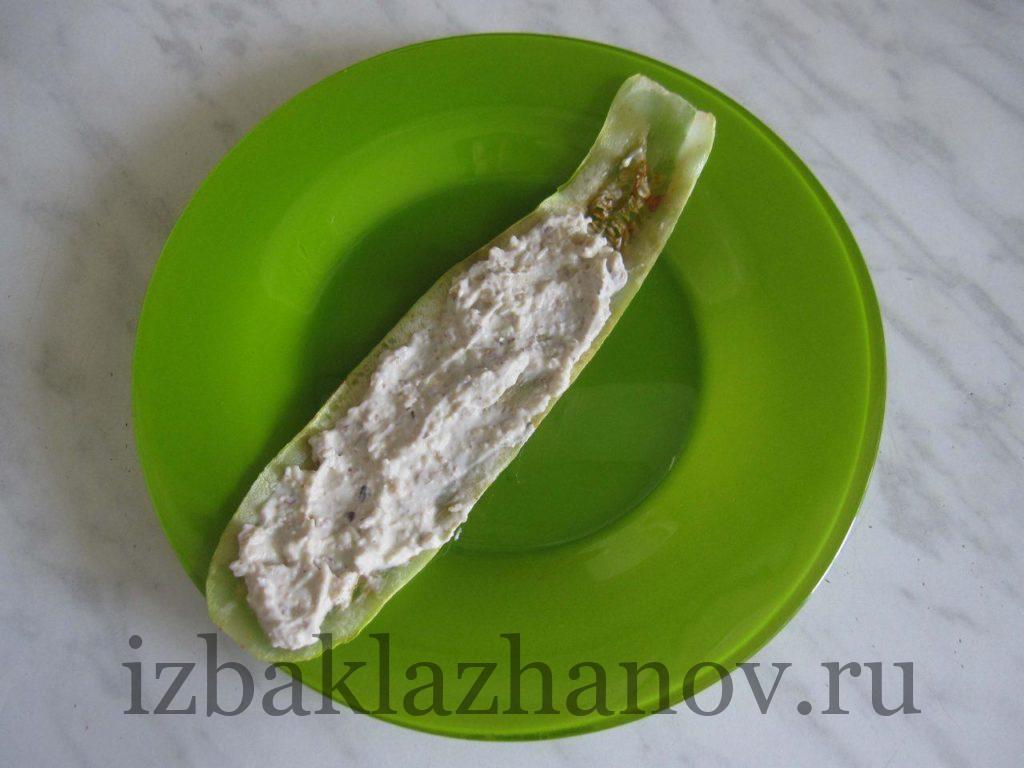 Кабачковый слайс с начинкой
