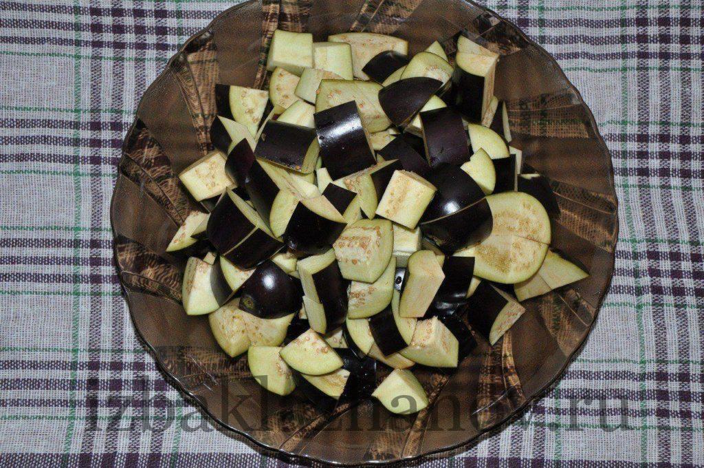 Баклажаны для салата кодры
