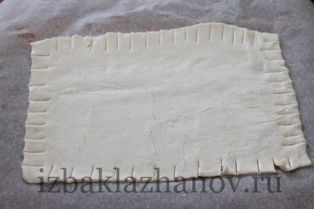 Слоеное тесто для быстрого пирога