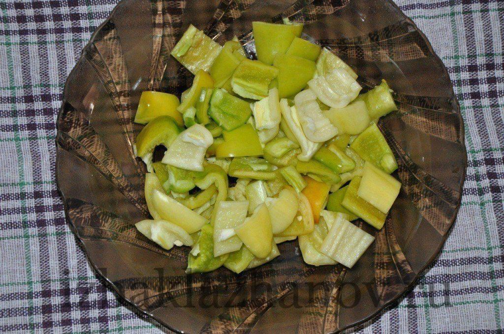 Сладкий перец для салата кодры